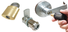 Wire Free Electronic Locks